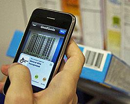 Smartphone shopping app