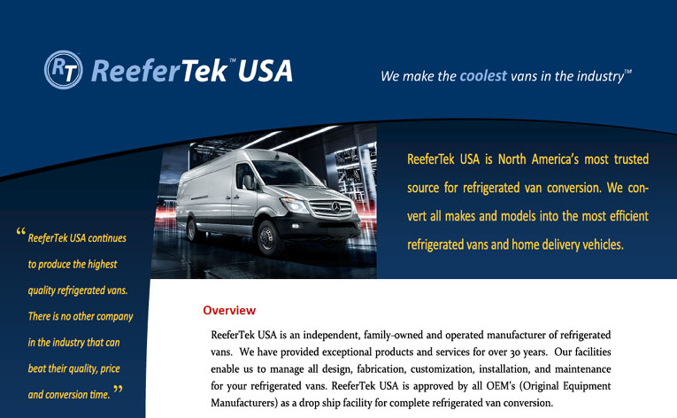 ReeferTek USA Marketing Brochure
